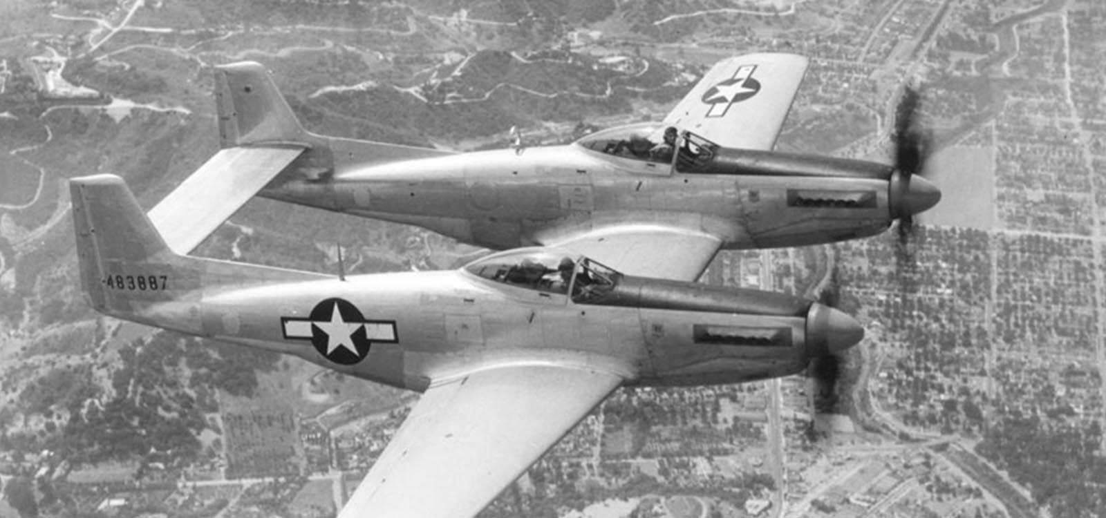F-82 Twin Mustang, 1946