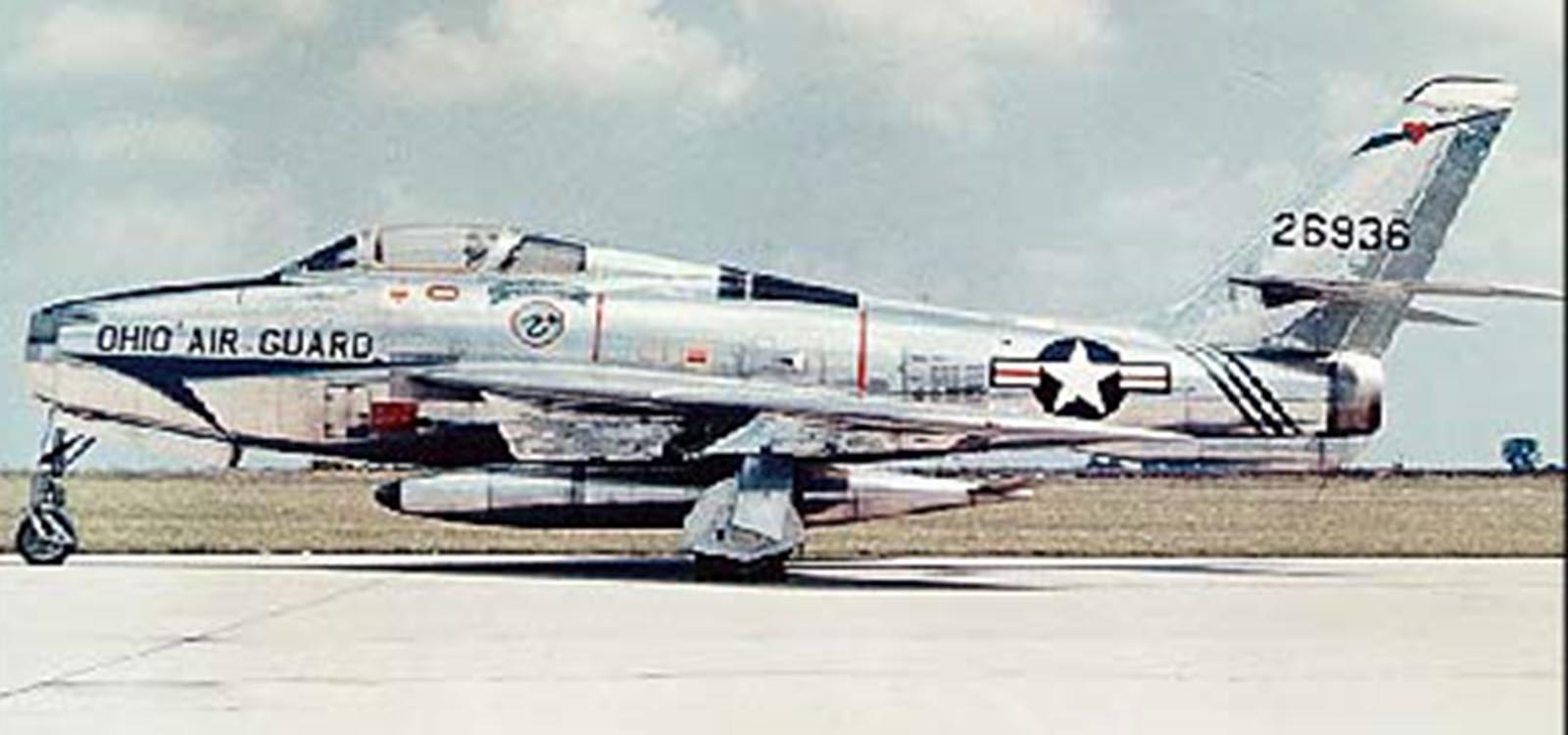 F-84F Thunderstreak, 1950